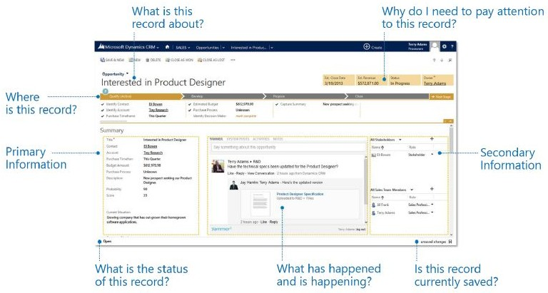 Microsoft Dynamics CRM 2013 Preview: New User Interface