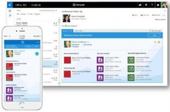 CRM App for Outlook and Excel Integration With Microsoft Dynamics CRM 2016