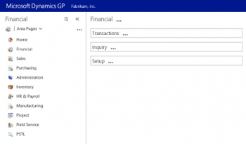 A Closer Look at the New HTML5 Web Client for Microsoft Dynamics GP 2016