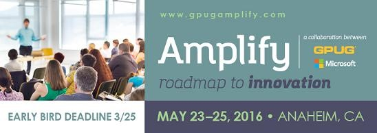 Introducing Amplify: The New Convergence For Microsoft Dynamics GP