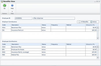 Employee Self Service Features in Microsoft Dynamics GP