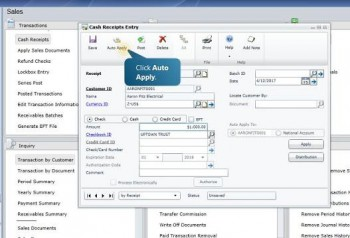 Streamline and Apply Cash Receipts With Microsoft Dynamics GP
