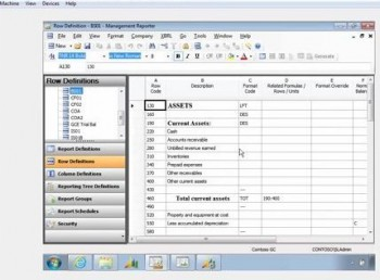 Main Features of Management Reporter for Microsoft Dynamics SL Part 3