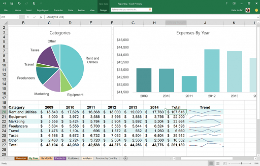 Microsoft Office 2016 and Microsoft Dynamics SL