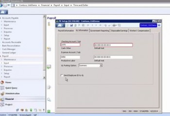 How to Set Up Payroll for Microsoft Dynamics SL