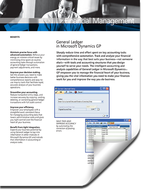 Dynamics GP General Ledger