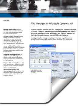 Dynamics GP PTO Manager