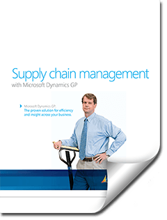 Supply Chain Management in Dynamics GP