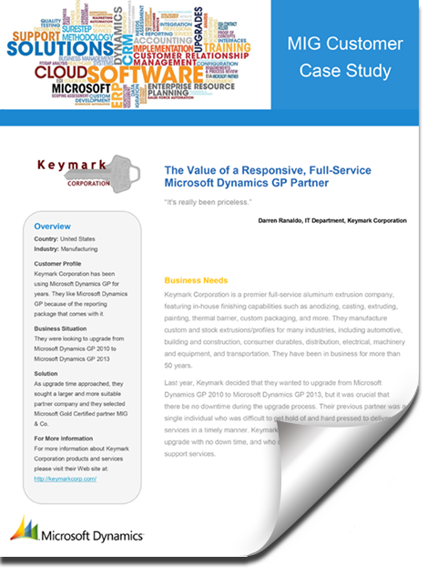 MIGCustomerCaseStudy KeymarkCorporation