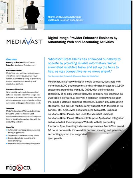 MediaVast Case Study