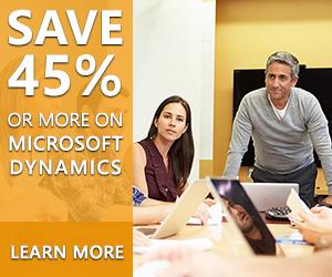 Microsoft Dynamics Promotions